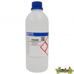 HANNA - SOLUTION ÉTALONNAGE pH6.86 500ML et CERTIFICAT