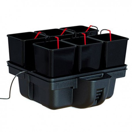 Platinium Hydroponics - HydroStar 60 (6 pots) - MJ 500, système hydroponique