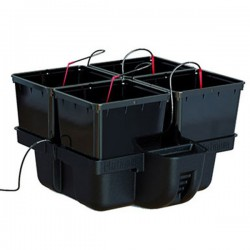 Platinium HydroPro 4 pots - MJ 500 , système hydroponique , hydroponie