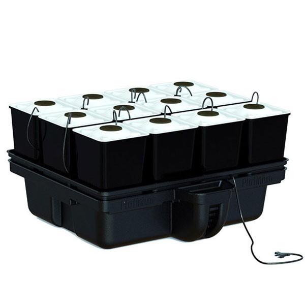 Platinium AeroStar 80 12 pots - MJ 1000 , système aéroponique , aéroponie