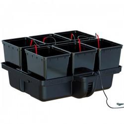 Platinium Hydroponics - Hydropro 6 pots - MJ 500 , système hydroponique