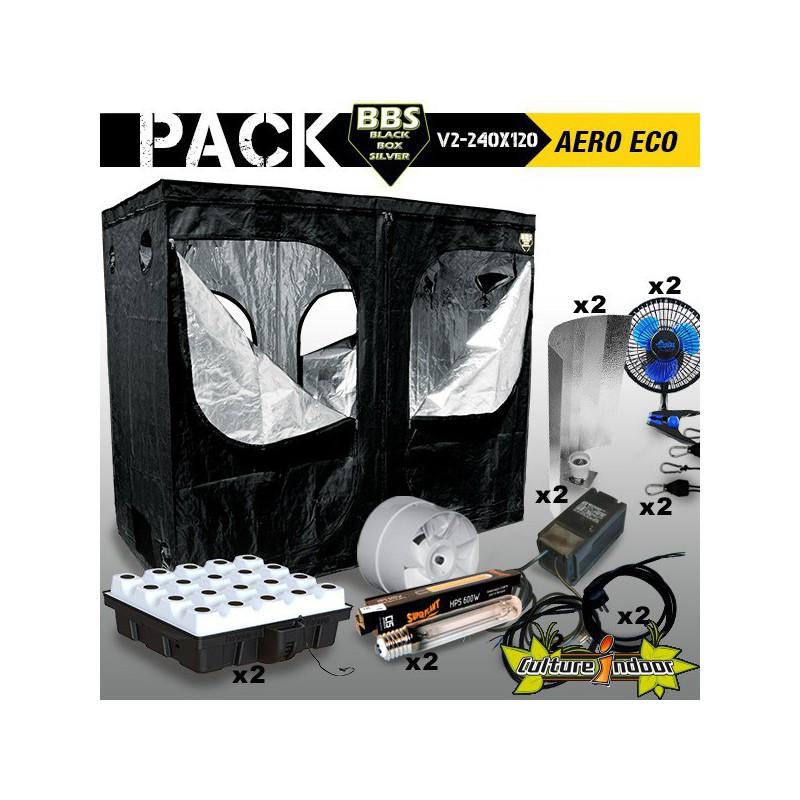 Pack chambre de culture compl teblack box v2 240 x 120 - Pack chambre de culture ...