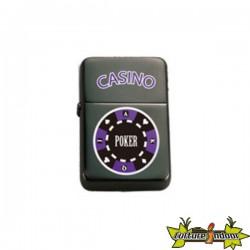 Belflam Oil - Le Briquet Essence Jeton Poker Violet Modele 2