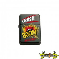Belflam Oil - Le Briquet Esse Design Comique Bd Crash Boom'' Modele 1''