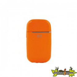 Gino Casti - Briquet Electronique Oriana Dl-12 - Arrondi Orange