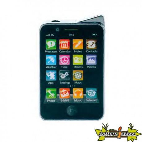 Champ - Briquet Piezo Type I-Phone Dl-12 - Noir