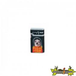 Pets Rock - Briquet Vera Piezo Dl-12 - King Of Pop - Noir