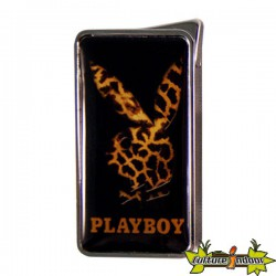 Playboy - Briquet Flameless Peau Leopard