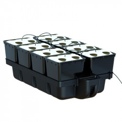 système aéroponique Platinium AeroPro 32 plantes 8 pots bato 110 x 60 x 38,5 cm
