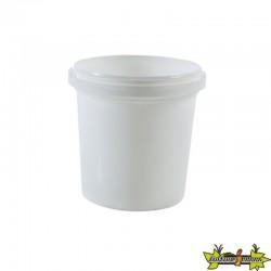 SEAU DE CONSERVATION BLANC 5.6 L DIAM.225 ANSE PLASTIQUE