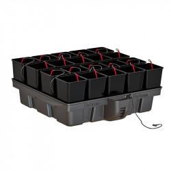 Platinium HydroStar 1 m² 20 pots 100 x 99 x 39 cm , système hydroponique