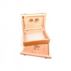 00 Box - Petite boîte en bois avec tamis