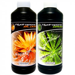 Pack engrais Platinium Hydroponic Grow & Bloom 1L