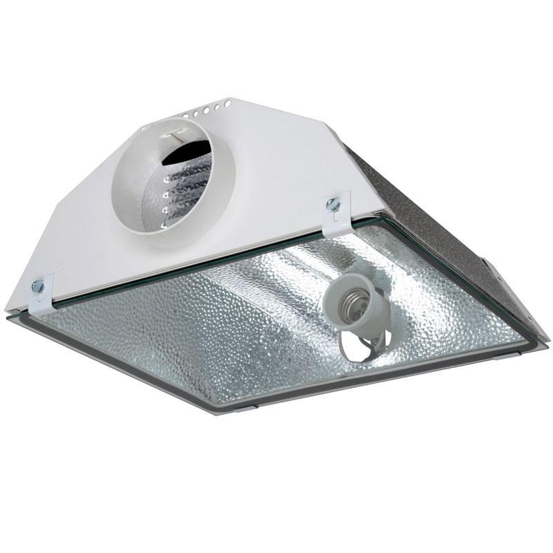 Réflecteur Spudnik 125mm aircooled,,douille E40, pour hps ou mh 150 à 1000w , Prima Klima -