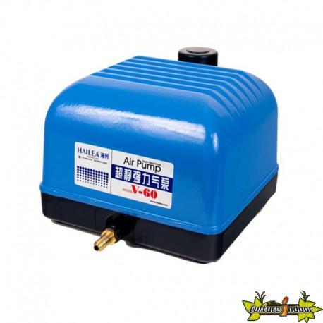 POMPE A AIR V60 10 SORTIES 3600L/H 230V 50Hz