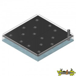 GROWCAMP/GROWWATER 120X120CM BASIC FC6850
