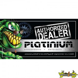 STICKER PLATINIUM AUTHORIZED DEALER 28X14CM