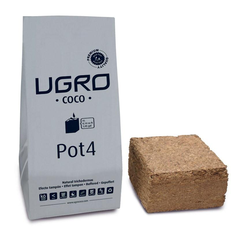 UGRO coco compressé Pot 4L