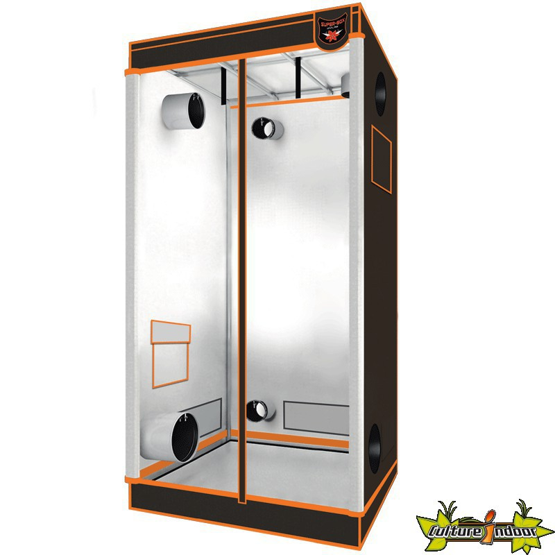 superbox chambre de culture mylar 125v 2 125x62x180 cm armoire de culture superbox 143 10. Black Bedroom Furniture Sets. Home Design Ideas