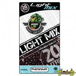 terreau Light-Mix perlite sac de 20L Platinium, semis , bouture , croissance et floraison