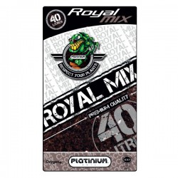 Platinium terreau Royal-Mix avec perlite sac de 40L, croissance et floraison , enrichi pour 6 semaines