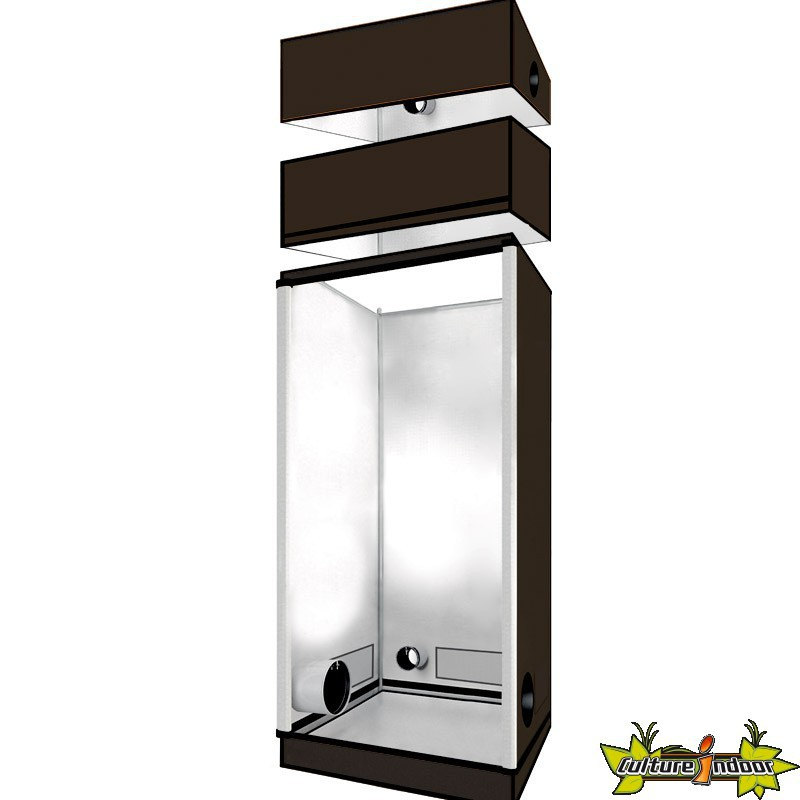 superbox chambre de culture evolution mylar 100x100x200 cm armoire de culture superbox 279. Black Bedroom Furniture Sets. Home Design Ideas