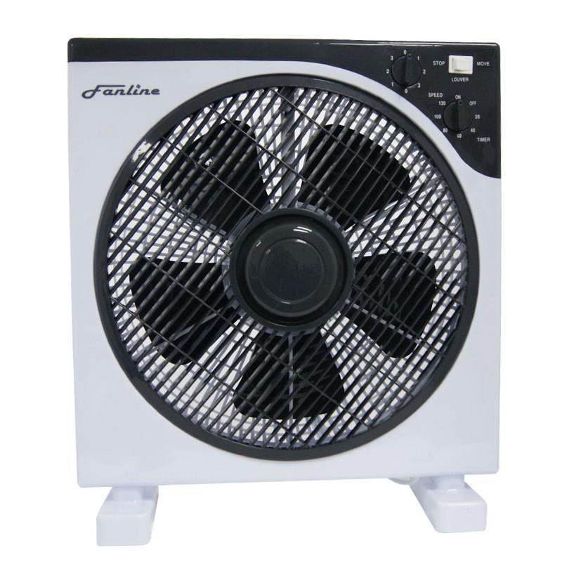 Ventilateur box fan 30cm 40w cis products 27 90 culture for Ventilateur chambre de culture