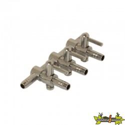 Diffuseur air Manifold en acier 3 sorties bulleurs 4/6mm