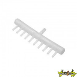 Diffuseur air Manifold plastique 10 sorties bulleurs 4/6mm