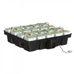 Platinium HydroStone 1m² 20 cubes 100 x 99 x 26,5 cm , système hydroponique , laine de roche