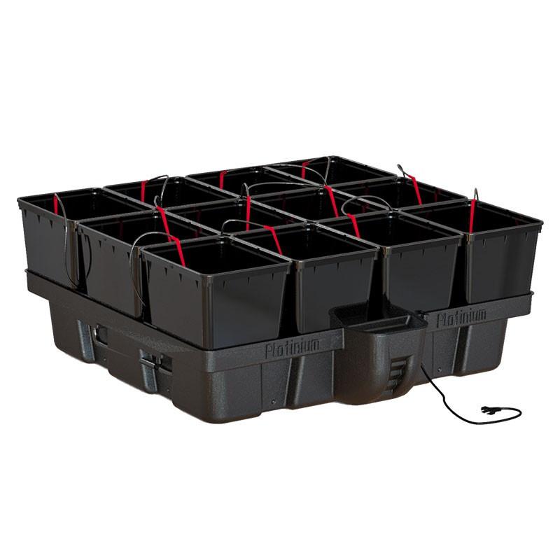 Platinium HydroPro 1 m² 12 pots Bato 100 x 99 x 38,5 cm système hydroponique