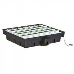 Platinium Ebb and Flow 120 (120 x 116 x 26,5 cm) , système hydroponique table à marée