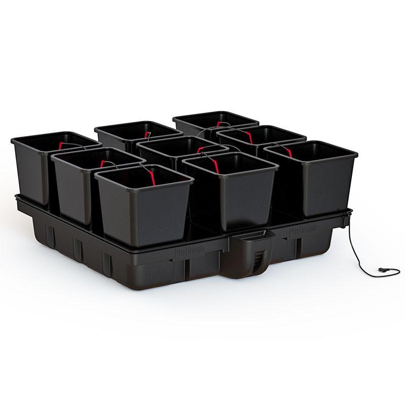 Platinium Big Pot XL 120 9 Big Pots 25L 120x120cm , système hydroponique