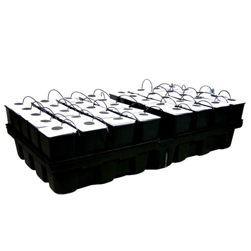 Platinium AeroStar 40 pots - 2m² 200 x 100 cm , culture aéroponique