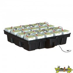 Platinium Hydroponics - HydroStone 1m² 20 cubes laines de roches 15x15- MJ 500