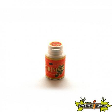 """Moulin 3 parts diamètre 45 mm """"Bubble Gum"""" orange"""