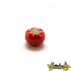 """Moulin 3 parts diamètre 48 mm """"Tomatoe"""" rouge"""