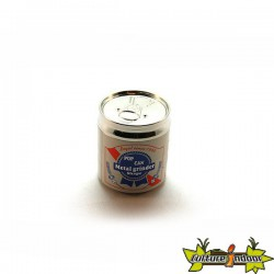"""Moulin 4 parts diamètre 52 mm """"Canette Pop Corn"""""""