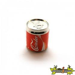 """Moulin 4 parts diamètre 52 mm """"Canette Coca"""""""