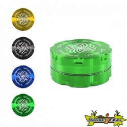 Moulin SPYRAL 2 PARTS 17X40MM (1.5) GREEN