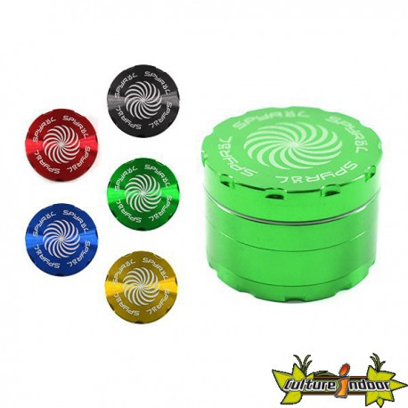 Moulin SPYRAL 4 PARTS 43X62MM (2.5) GREEN