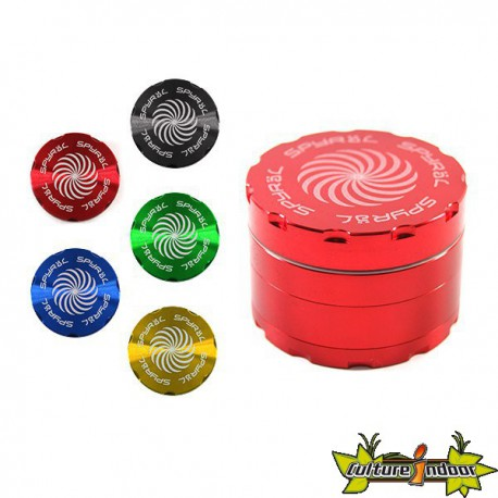 Moulin SPYRAL 4 PARTS 43X62MM (2.5) RED