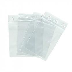 Boîte de 100 sachets zip 50µ 60x80mm