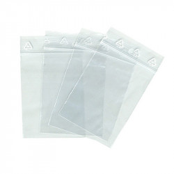 Boîte de 1000 sachets zip 50µ 100x100mm