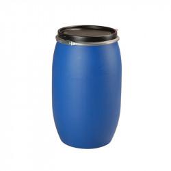 Réservoir fût plastique bleu PEHD 120L
