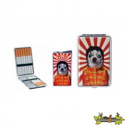 Pets Rock - Set Cadeau Briquet + Etui A Cigarette - Mickael J