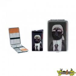 Pets Rock - Set Cadeau Briquet + Etui A Cigarette - Karl L.