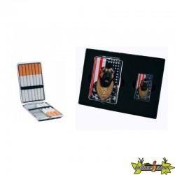 Pets Rock - Set Cadeau Briquet + Etui A Cigarette - Mister T