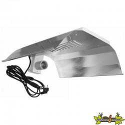 Réflecteur renforcé et câblé pour CFL de 125w à 300w