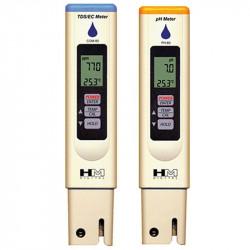 WATERPROOF HM DIGITAL PH80 - EC80 , testeur ph , alcalinité et EC , électro conductivité , pack complet 2 testeurs
